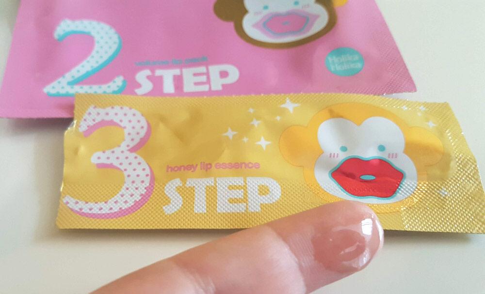 Golden Monkey Glamour 3 step kit 3. lépés