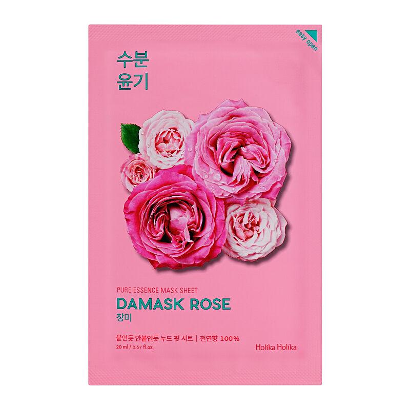 Holika Holika Pure Essence damask rose fátyolmaszk
