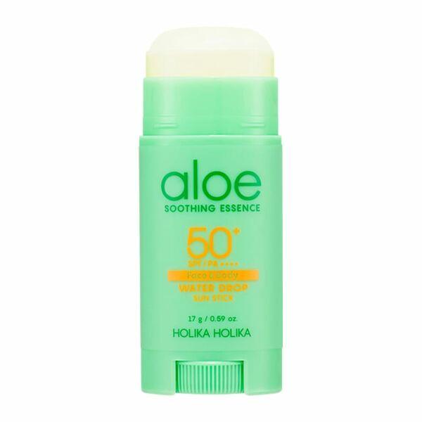 Holika Holika Aloe Soothing Essence Water Drop SPF50+ fényvédő stick