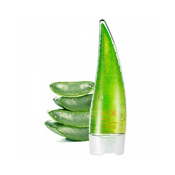 Holika Holika Aloe Facial Cleansing foam arclemosó