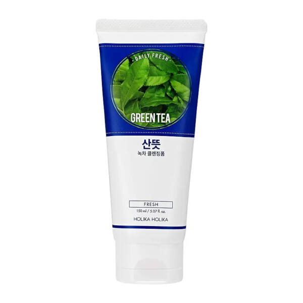 Holika Holika daily fresh cleansing foam zöld teás arclemosó