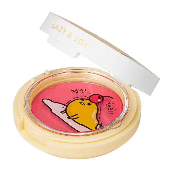 Holika Holika Gudetama Jelly Dough Blusher arcpirpsító RD01 Cherry Jelly