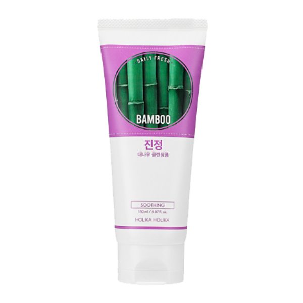 Holika Holika daily fresh bamboo cleansing foam arclemosó