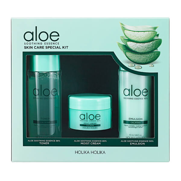 Holika Holika Aloe Soothing Essence szett