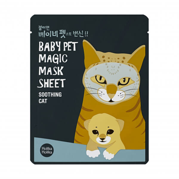 Baby Pet Magic Mask Sheet - A macska