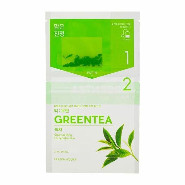 Holika Holika Instantly Brewing zöld teás fátyolmaszk