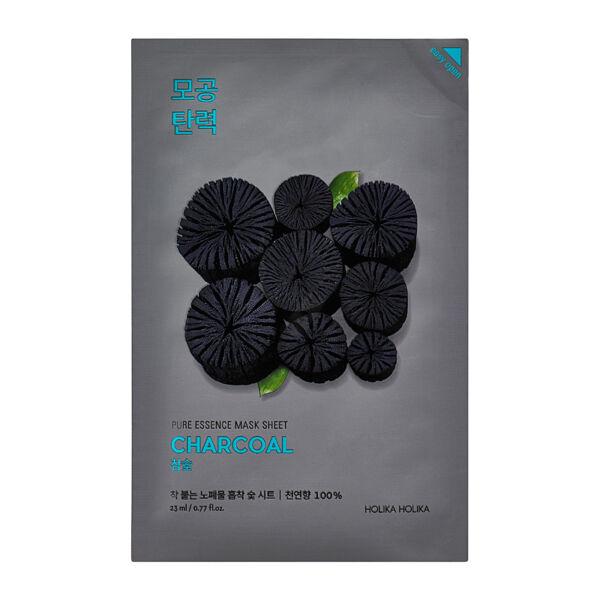 Holika Holika Pure Essence Mask Sheet - Szén