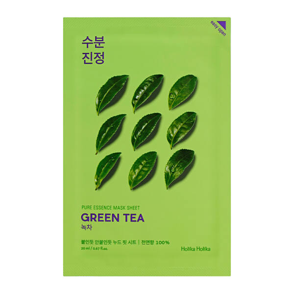 Holika Holika Pure Essence Mask Sheet - zöld tea