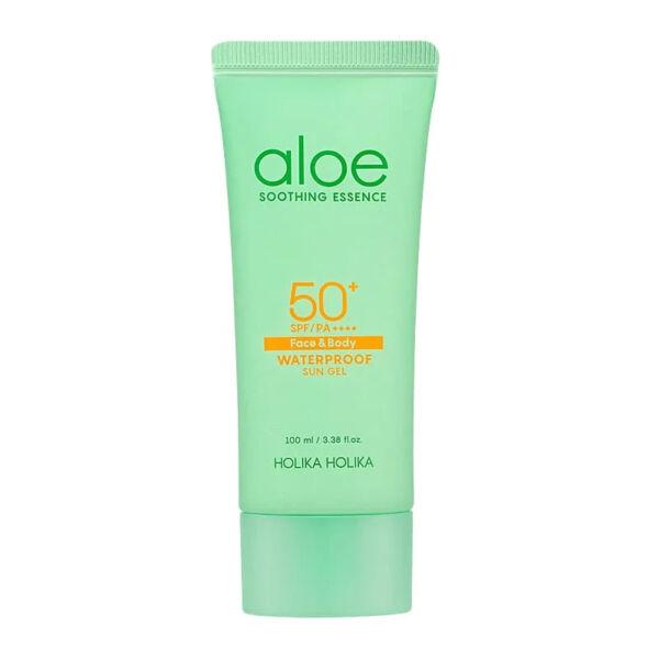 Holika Holika Aloe Soothing Essence vízálló SPF50+ fényvédő